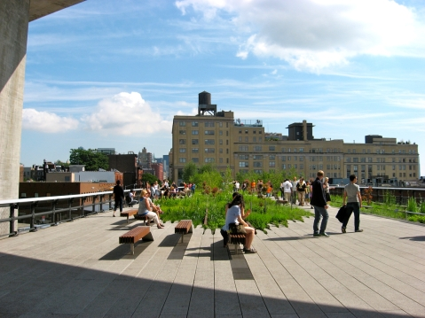 The High Line. Photo by Anna Peccianti