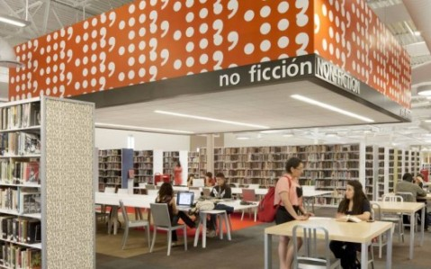 McAllen Public Library. Photo via PSFK.