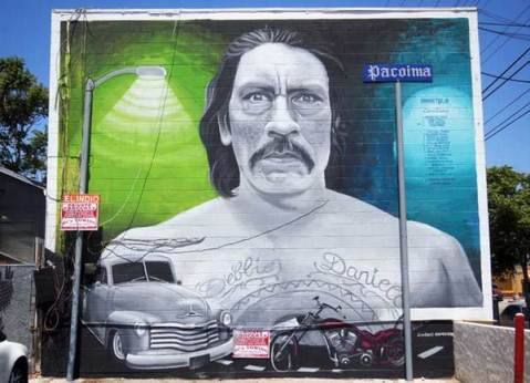 """Danny Trejo"" by Levi Ponce. Photo by April Aguirre via KCET Departures"