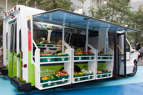 Toronto's Mobile Good Food Market. Photo by Laura Berman via My Modern Met